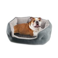 Canine Creations Cozy Oval Round Cuddler Pet Bed (Choose Your Size and Color)