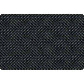 Diamond Foot™ Anti-fatigue Mat, Black (2' x 3')