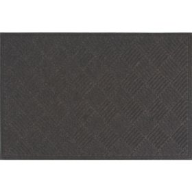 Heavy-Duty Commercial Crosshatch EcoMat, Charcoal (Choose You Size)