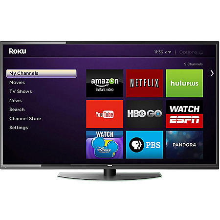 "Sanyo 50"" Class 1080p LED HDTV w/ Roku Streaming Stick - FVF5044"