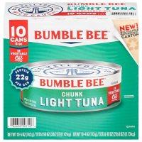 Bumble Bee Chunk Light Tuna in Oil (5 oz., 10 ct.)