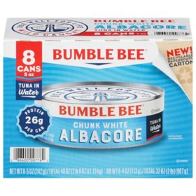 Bumble Bee Chunk White Albacore (5 oz., 8 pk.)