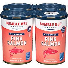 Bumble Bee Wild Alaska Pink Salmon (14.75 oz., 4 ct.)