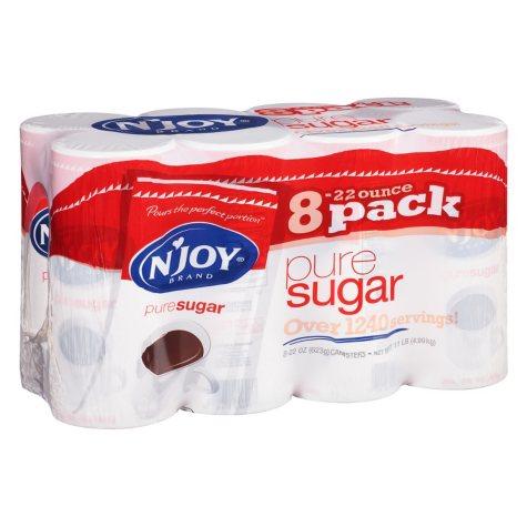 N'Joy Pure Sugar (22 oz. canisters, 8 pk.)