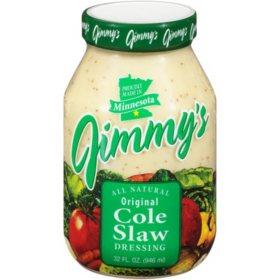 Jimmy's Original Coleslaw Dressing (32 oz.)