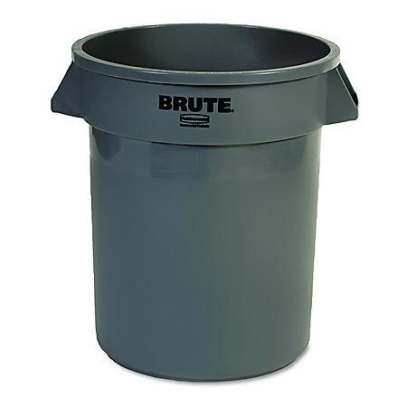 Rubbermaid Brute Trash Can - Gray - 20 gal.