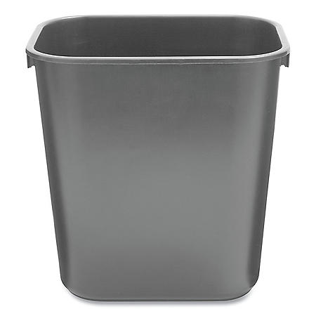 Rubbermaid Soft Molded Plastic Trash Can (Choose Your Size & Color)