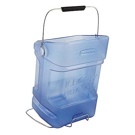 Ice Tote with Hook Assembly, Blue (5.5 gal.)