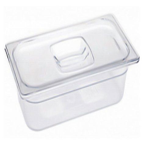 "Rubbermaid 1/3 Size Cold Food Pans with Lids  2-6"" W/LIDS"