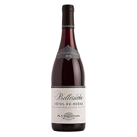 M. Chapoutier Belleruche Rouge Cotes-du-Rhone (750 ml)