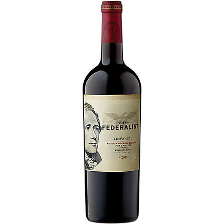 The Federalist Bourbon Barrel Aged Zinfandel (750 ml)