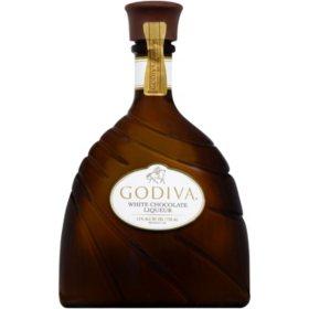 Godiva White Chocolate Liqueur (750mL)