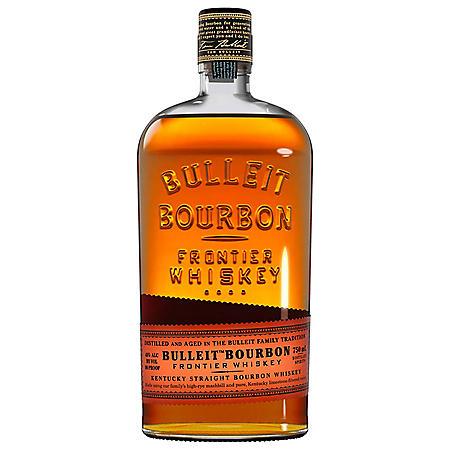Bulleit Bourbon Whiskey (750 ml)