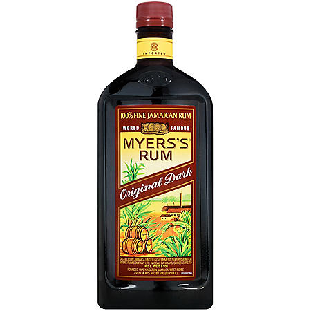 Myers's Original Dark Fine Jamaican Rum (750 ml)