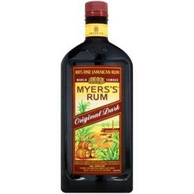 Myers's Original Dark Fine Jamaican Rum (750 ml)