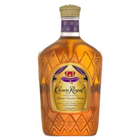 Crown Royal Fine De Luxe Blended Canadian Whisky (1.75 L)