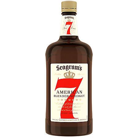 Seagram's 7 Crown American Blended Whiskey (1.75 L)
