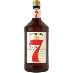 Seagram's 7 Crown American Blended Whiskey (1.75 L)