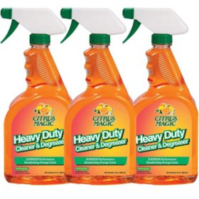 Citrus Magic Heavy Duty Cleaner and Degreaser (32 oz., 3 pk.)
