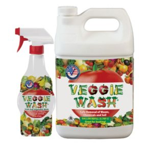 Veggie Wash All-Natural Fruit and Vegetable Wash (144 oz.)