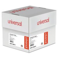 """Universal® Multicolor Paper, 4-Part Carbonless, 15lb, 9-1/2"""" x 11"""", Perforated, 900 Sheets"""