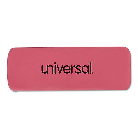 Universal Bevel Block Erasers, 20/Pack