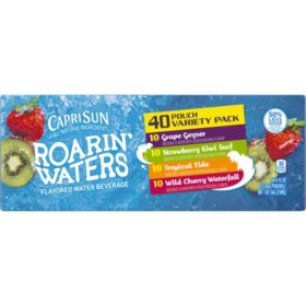 Capri Sun Variety Pack Fruit Flavored Juice Drink Blend (40 ct.)