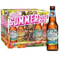 Angry Orchard Hard Cider Fall Haul Mix Variety Pack, Spiked  (12 fl. oz. bottle, 12 pk.)