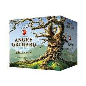 Angry Orchard Crisp Apple Hard Cider (12 oz. bottles, 24 pk.)