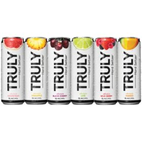 Truly Spiked & Sparkling Variety Pk. (12 fl. oz. can, 24 pk.)