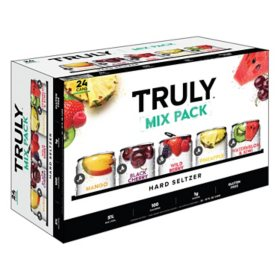 Truly Hard Seltzer Spiked & Sparkling Variety Pk. (12 fl. oz. can, 24 pk.)