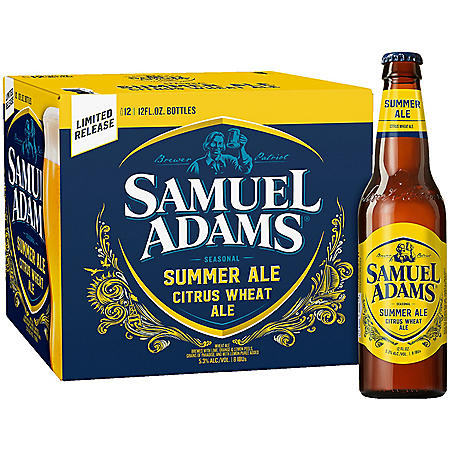 Samuel Adams Winter Lager Seasonal Beer (12 fl. oz. bottle, 12 pk.)