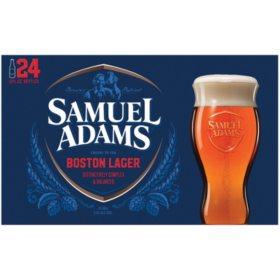 Samuel Adams Boston Lager (12 fl. oz. bottle, 24 pk.)