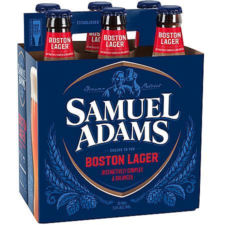 Samuel Adams Boston Lager (12 fl. oz. bottle, 6 pk.)