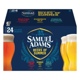 Samuel Adams Summer Variety Pack (12 fl. oz. bottle, 24 pk.)