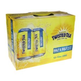 Twisted Tea Half & Half Hard Iced Tea (12 fl. oz. can, 12 pk.)