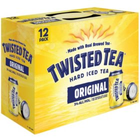 Twisted Tea Hard Iced Tea (12 fl. oz. can, 12 pk.)