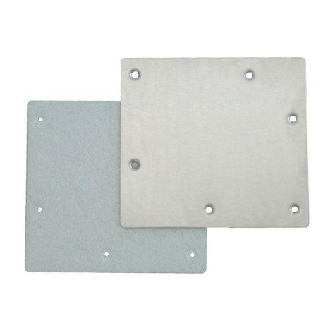 Standard Stainless Steel Winter Plate