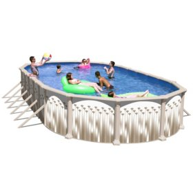 Novella Complete Above Ground Pool Package 30 X 15 X 52 Sam S Club