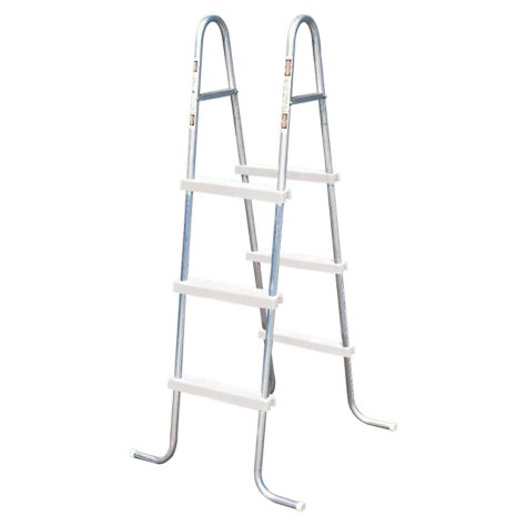 """42"""" Steel Ladder with resin Steps"""