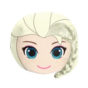 "Disney's Frozen, ""Elegant Elsa"" 3D Ultra-Stretch Travel Cloud Pillow (14""x 14"")"