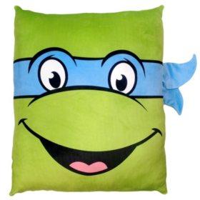 Nickelodeon's Teenage Mutant Ninja Turtles 3D Cloud Pillow- Leo
