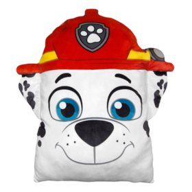 "Nickelodeon's Paw Patrol, ""Marshall"" 24"" Square 3D Ultra Stretch Travel Cloud Pillow"