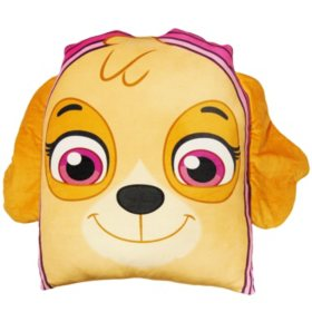 "Nickelodeon's Paw Patrol ""Skye"" 24"" Square 3D Ultra Stretch Travel Cloud Pillow"