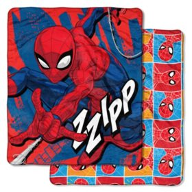 "Marvel's Spider-Man ""Fast Spider"" Double-Sided Cloud Throw, 60"" x 70"""