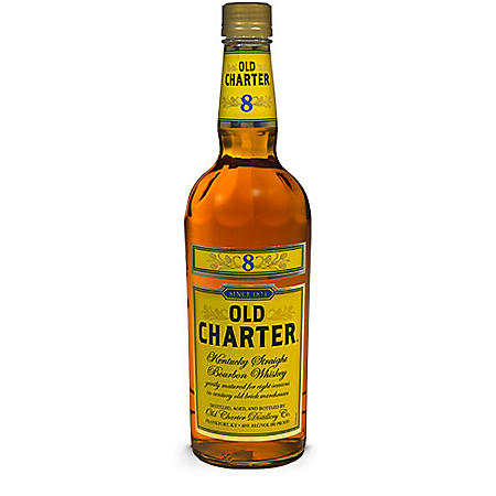 Old Charter 8 Year Old Kentucky Straight Bourbon Whiskey (1.75 L)