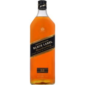 Johnnie Walker Black Label Blended Scotch Whisky (1.75L)