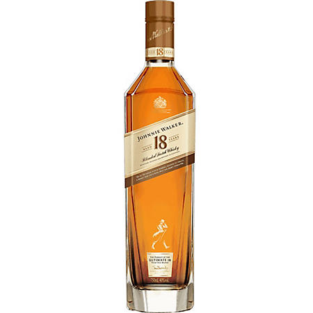 Johnnie Walker Aged 18 Years Blended Scotch Whisky (750 ml)