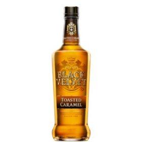 Black Velvet Toasted Caramel Flavored Whisky (750ML)