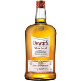 Dewar's White Label Blended Scotch Whisky (1.75 L)